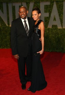 Forest & Keisha Whitaker // 2009 Vanity Fair Oscar Party (Red Carpet)