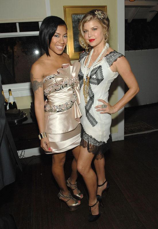 Keyshia Cole & Fergie // Vanity Fair & Krug Dinner