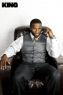 50 Cent for KING Magazine