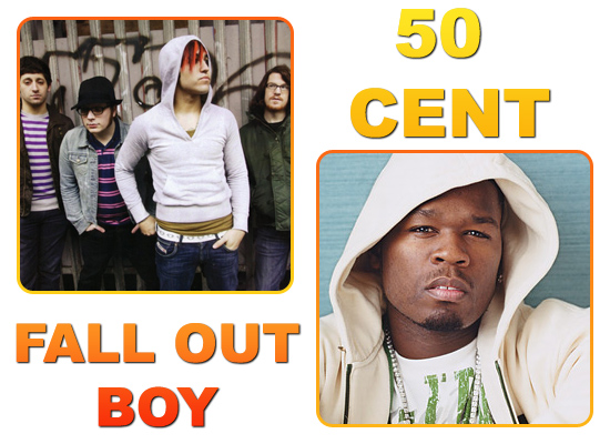 50 Cent // Fall Out boy