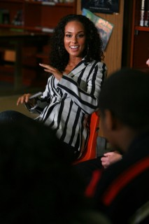 Alicia Keys // D.C. High School visit for Women\'s History Month