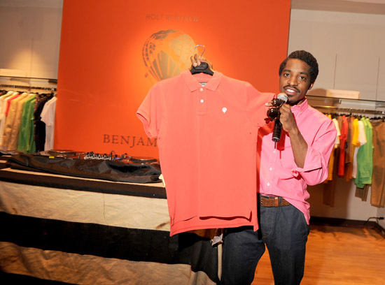 Andre Benjamin // Benjamin Bixby Menswear Spring 2009 Collection Launch in Canada