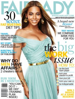 Beyonce covers Fair Lady magazine (March 2009)