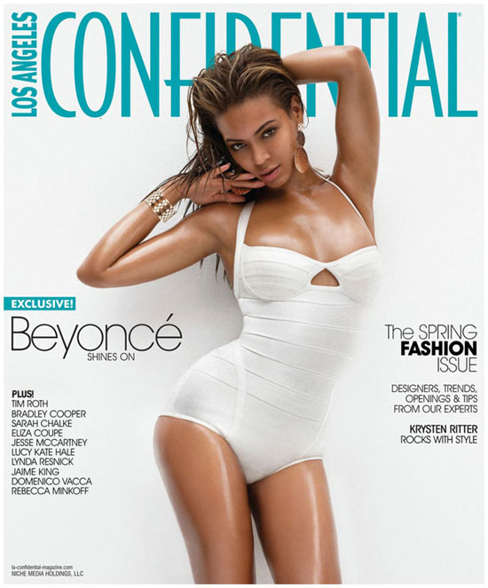 Beyonce covers Los Angeles Confidential