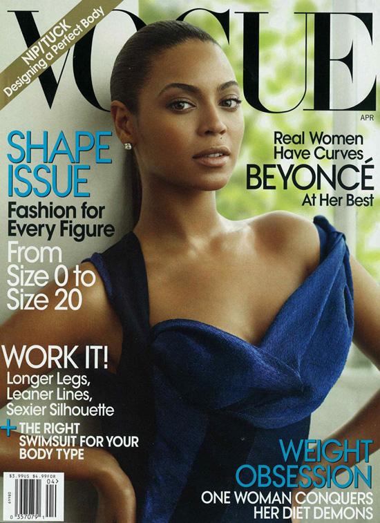 Beyonce Knowles // April 2009 Vogue Magazine
