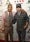 Nick Cannon & Billy Dec // Launch party for Billy Dec's new blog