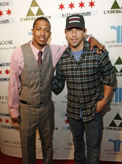 Nick Cannon & Billy Dec // Launch party for Billy Dec\'s new blog