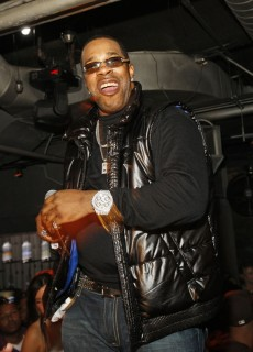Busta Rhymes // Launch party for Billy Dec\'s new blog