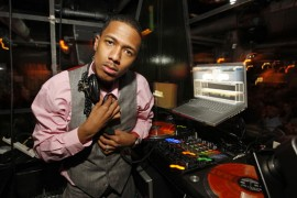 Nick Cannon // Launch party for Billy Dec\'s new blog