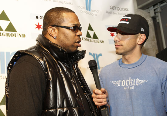 Busta Rhymes & Billy Dec // Launch party for Billy Dec's new blog