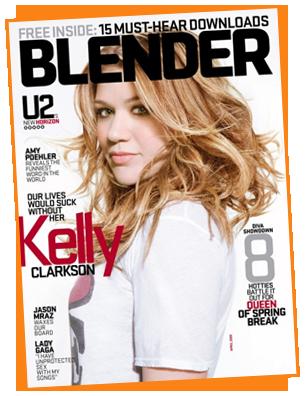 Blender Magazine // Kelly Clarkson