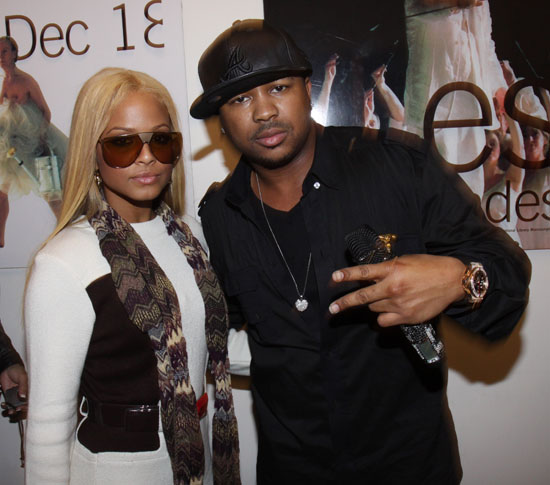Christina Milian & The Dream // Backstage at the Boro Takeover tour in Brooklyn, NY