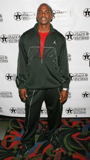 Keith Robinson // Stars & Strikes Celebrity Bowling Tournament