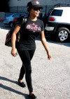 """Lil Kim going to rehearsals for """"Dancing with the Stars"""" in Los Angeles (Mar. 25th 2009)"""