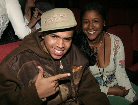 Chris Brown & Tina Davis