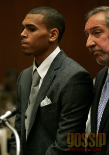 Chris Brown in Los Angeles Superior Court (Thurs. Mar. 5th 2009)