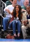 Ciara attends Knicks vs. Hornets basketball game (Mar. 27th 2009)