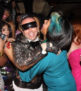 Damon Peruzzi & Kelis // Damon Peruzzi\'s birthday party in LA