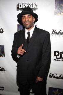 DJ Clue // The Dream\'s Black Tie Album Release Party in NY