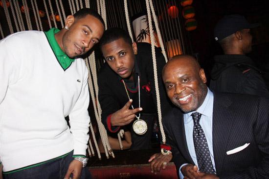Ludacris, Fabolous & LA Reid // The Dream\'s Black Tie Album Release Party in NY