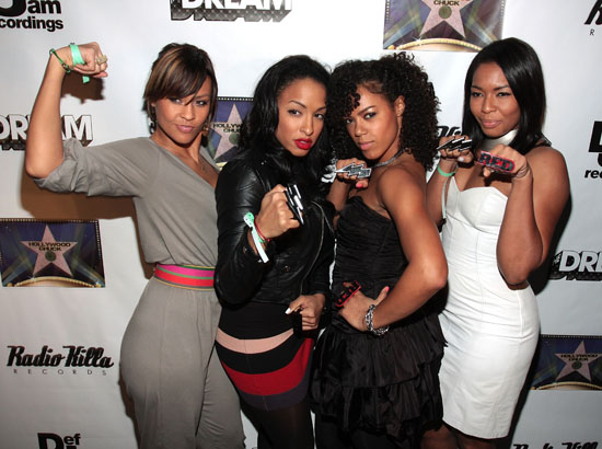 Electrik Red // The Dream\'s Black Tie Album Release Party in NY