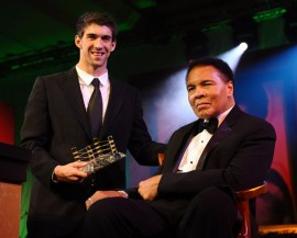 Michael Phelps & Muhammad Ali // 15th Annual Celebrity Fight Night