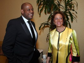 Forest Whitaker & Lonnie Ali // 15th Annual Celebrity Fight Night