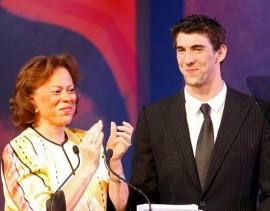 Lonnie Ali & Michael Phelps // 15th Annual Celebrity Fight Night