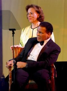 Lonnie & Muhammad Ali // 15th Annual Celebrity Fight Night