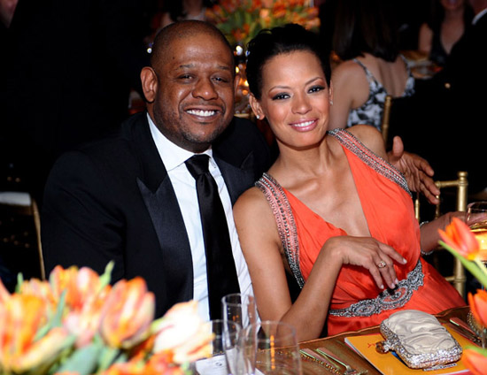 Forest & Keisha Whitaker // 15th Annual Celebrity Fight Night