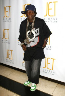 Flavor Flav at his 50th birthday party in Vegas