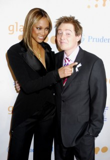 Tyra Banks & Clay Aiken // 20th Annual GLAAD Awards