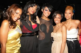 """Female cast of \""""Harlem Heights\"""" // Harlem Heights Premiere in NYC"""