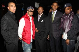 """Male cast of \""""Harlem Heights\"""" // Harlem Heights Premiere in NYC"""