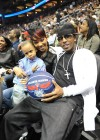 Monica, Rocko and Lil Rocko // Hawks vs. Lakers Game (Mar. 29th 2009)