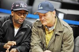 Spike Lee & Bill Murraye // Hawks/Cavaliers game in Atlanta (Mar. 1st 2009)
