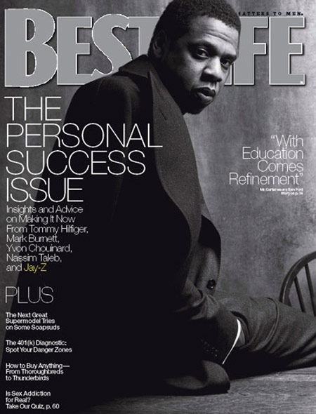 Jay-Z covers Best Life Magazine (April 2009) -- Alternate Cover
