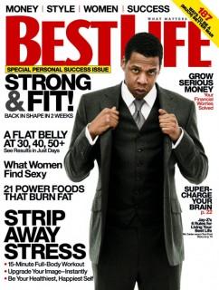 Jay-Z covers Best Life Magazine (April 2009)