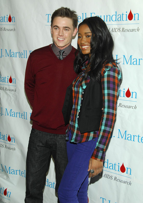 Jesse McCartney & Keke Palmer // 10th Annual T.J. Martell Foundation Family Day