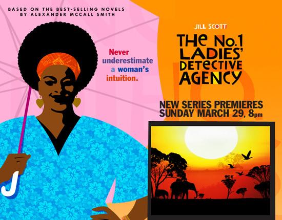 Jill Scott // The No. 1 Ladies' Detective Agency