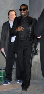 Kanye West // Saint Laurent Ready-to-Wear Fashion Show