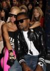 Amber Rose & Kanye West // Stella McCartney Ready-to-Wear Fashion Show (Paris Fashion Week 2009)