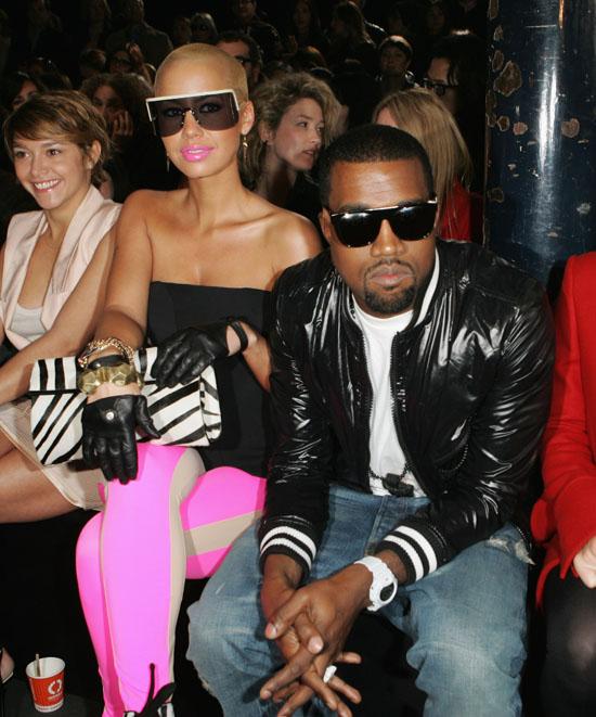 Coupled Up (Paris Fashion Week 2009): Kanye & Amber Attend ...