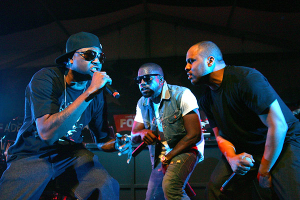 GLC, Kanye West & Consequence // South by South West (SXSW) Music Festival in Austin, TX