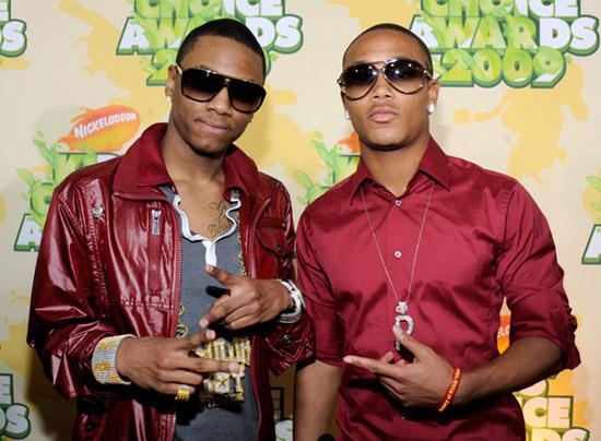 Soulja Boy & Romeo // 2009 Kids Choice Awards Red Carpet