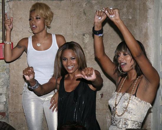 Keyshia Cole, Ciara & Keri Hilson