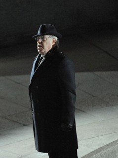 "Bruce McGill on the set of ""Law Abiding Citizen\"" in Philadelphia"