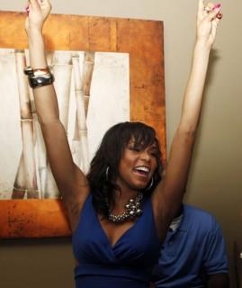 Letoya Luckett // Letoya Lucket\'s birthday party at Bambou in Houston, TX