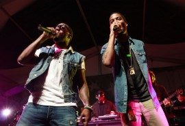 Kanye West & KiD CuDi // The last Levi\'s Fader Fort at SXSW 2009