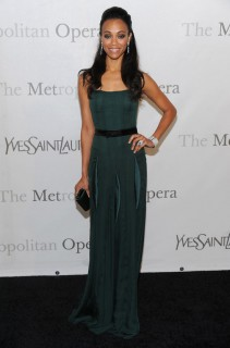 Zoe Saldana // The Metropolitan Opera\'s 125th Anniversary Gala